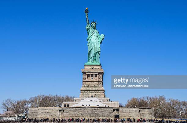 Liberty Monument in New York City, New York