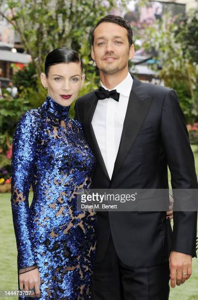 Liberty Ross and director Rupert Sanders attend the World Premiere of 'Snow White And The Huntsman' at Empire Leicester Square on May 14 2012 in...