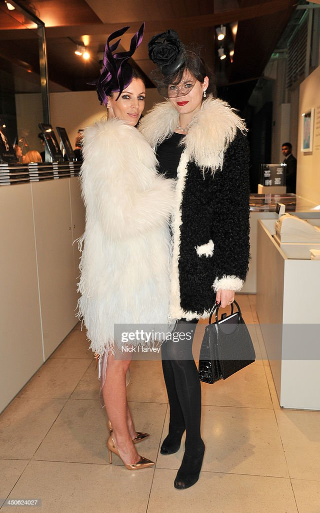 Liberty Ross and Jasmine Guinness attend the private view of Isabella Blow: Fashion Galore! Party at Somerset House on November 19, 2013 in London, England.