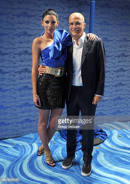 Liberty Ross and Jimmy Iovine arrive at HBO's Post Emmy Awards Reception at The Plaza at the Pacific Design Center on September 18 2016 in Los...