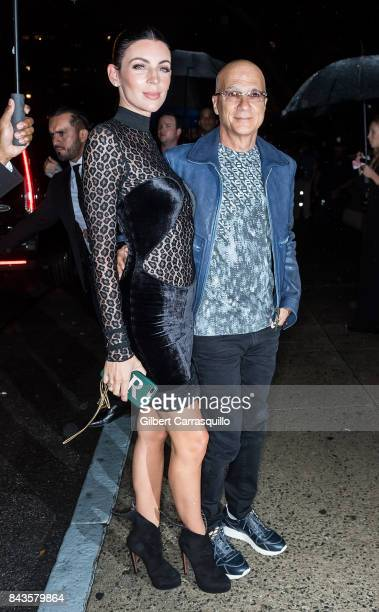 Liberty Ross and Jimmy Iovine arrive to the Tom Ford Spring/Summer 2018 Runway Show at Park Avenue Armory on September 6 2017 in New York City