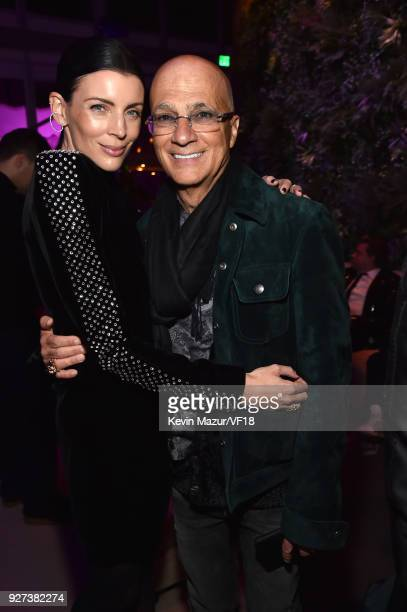 Liberty Ross and Jimmy Iovine attend the 2018 Vanity Fair Oscar Party hosted by Radhika Jones at Wallis Annenberg Center for the Performing Arts on...