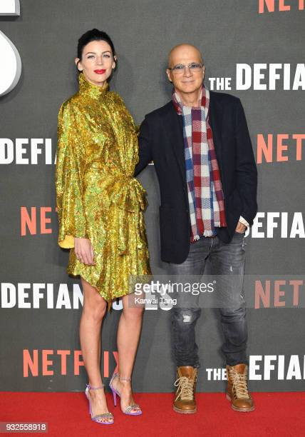 Liberty Ross and Jimmy Iovine attend 'The Defiant Ones' special screening at the Ritzy Picturehouse on March 15 2018 in London United Kingdom