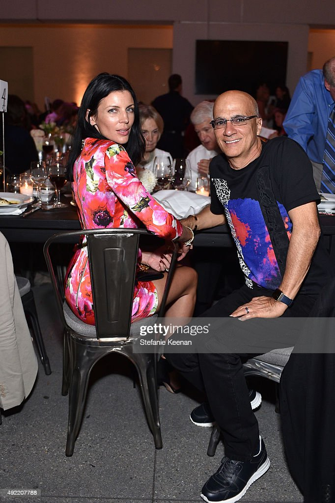 Liberty Ross and Jimmy Lovine attend Hammer Museum's 'Gala in the Garden' Sponsored by Bottega Veneta at Hammer Museum on October 10, 2015 in Westwood, California.