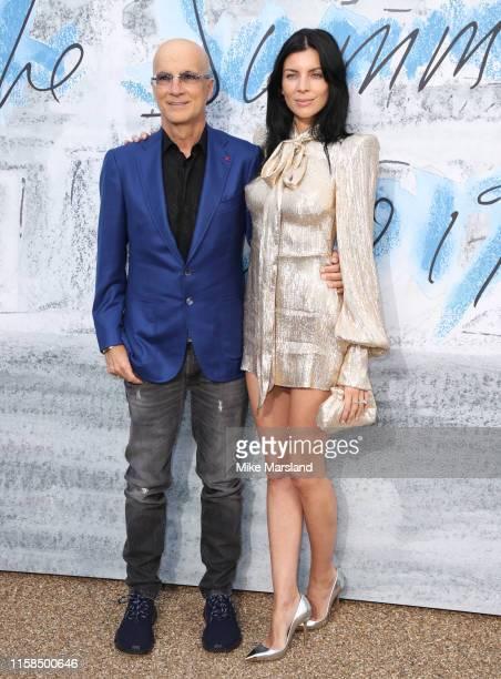 Liberty Ross and Jimmy Lovine attend The Summer Party 2019 Presented By Serpentine Galleries And Chanel at The Serpentine Gallery on June 25 2019 in...