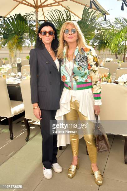 Liberty Ross and Rosanna Arquette attend Academy Museum of Motion Pictures Luminaries Luncheon Supported by JP Morgan Chase & Co at Academy Museum of...