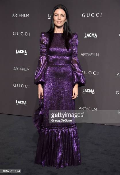Liberty Ross arrives at the 2018 LACMA Art Film Gala at LACMA on November 3 2018 in Los Angeles California