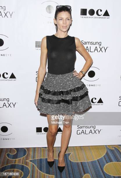 Liberty Ross arrives at the 8th Annual MOCA Awards to distinguished women in the arts luncheon held at the Beverly Wilshire Four Seasons Hotel on...