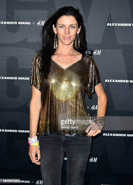 Liberty Ross arrives at the Alexander Wang X HM Coachella Party held at the Indio Performing Arts Center on April 12 2014 in Indio California