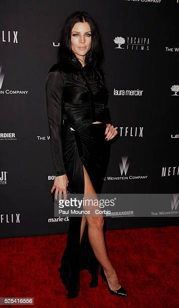 Liberty Ross arrives at the Weinstein Company Golden Globes AfterParty