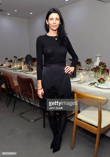 Liberty Ross at Nordstrom and Olivia Kim Host Dinner for Roksanda Ilincic at Eric Buterbaugh Los Angeles on November 30 2017 in Los Angeles California