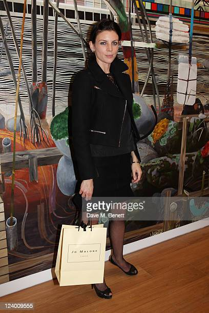Liberty Ross attends the debut screening of a short film collaboration between Bella Freud and director Martina Amati at Max Wigram Gallery on...