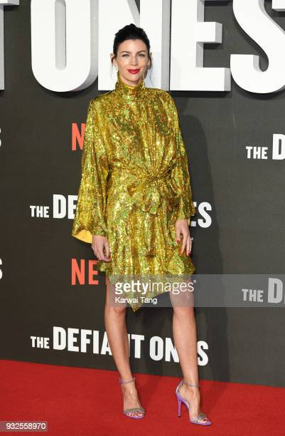 Liberty Ross attends 'The Defiant Ones' special screening at the Ritzy Picturehouse on March 15 2018 in London United Kingdom