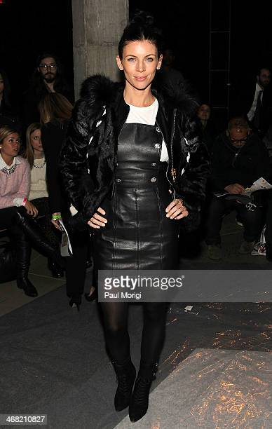 Liberty Ross attends the Edun show during MercedesBenz Fashion Week Fall 2014 at Skylight Modern on February 9 2014 in the Brooklyn borough of New...