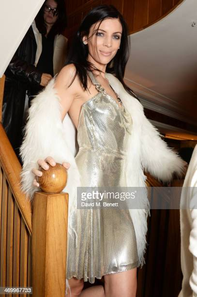 Liberty Ross attends the launch of LOVE special editions at George on February 17 2014 in London England