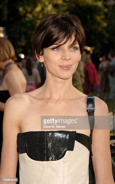 Liberty Ross attends the Serpentine Summer Party at The Serpentine Gallery on July 11 2007 in London England