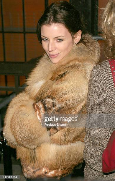 Liberty Ross during All Star Lanes Launch Party January 19 2006 at All Star Lanes in London Great Britain