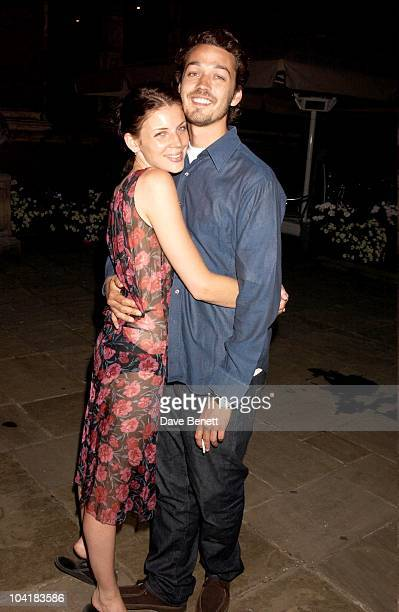 Liberty Ross With Husband To Be The Ossie Clark Retrospective At The Victoria Albert Museum In London