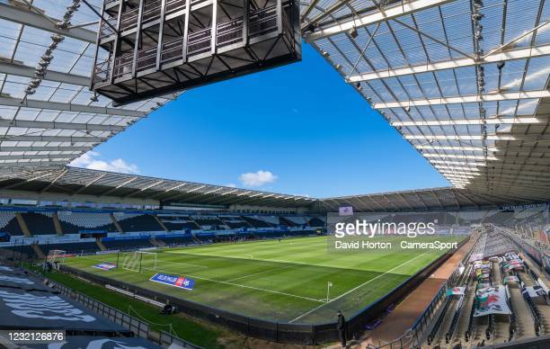 Liberty Stadium - home of Swansea City AFC - Ground view during the Sky Bet Championship match between Swansea City and Preston North End at Liberty...