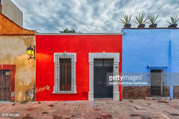 Liberty walkway in Queretaro, Mexico