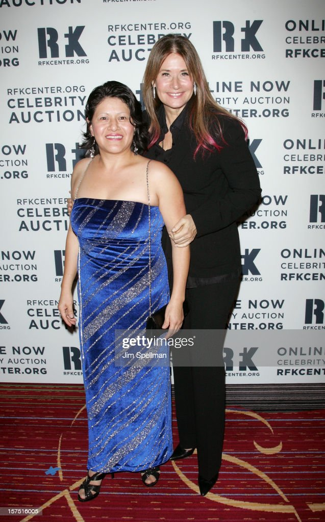 Librada Paz and actress Lorraine Bracco attends 2012 Ripple Of Hope Gala at The New York Marriott Marquis on December 3, 2012 in New York City.