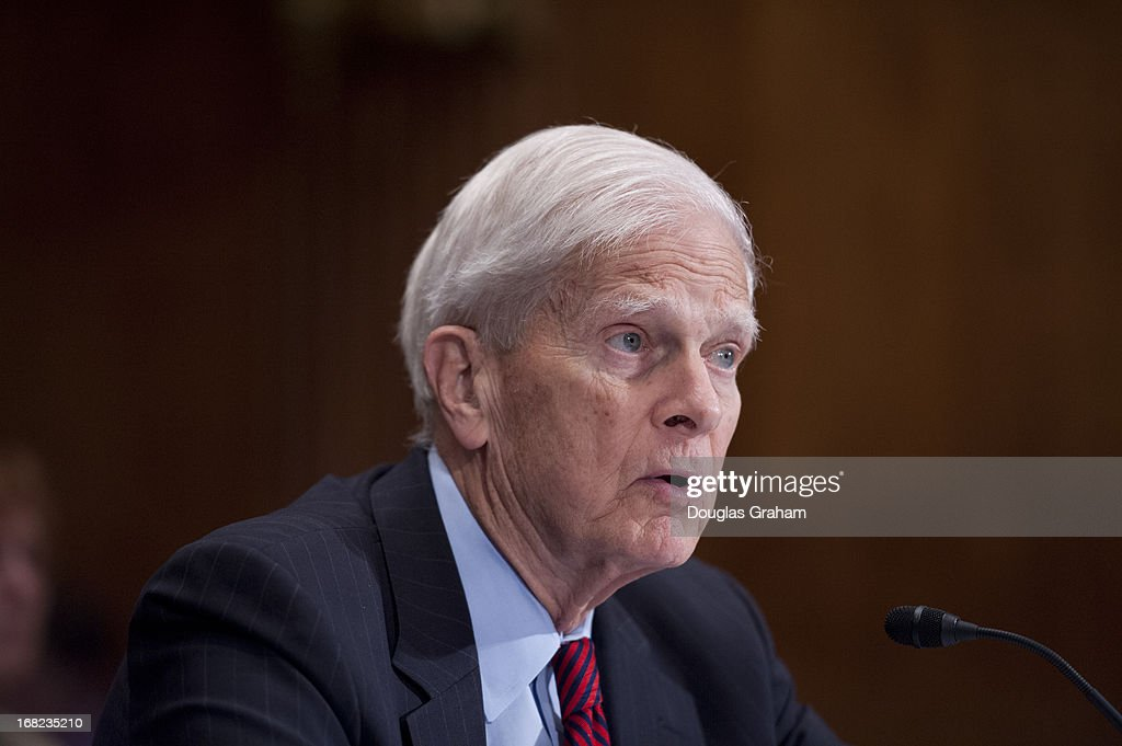 Librarian of Congress, James Billington, during the Legislative Branch Subcommittee hearing on the FY2014 Budget Request for the Library of Congress and the Open World Leadership Center on May 7, 2013.