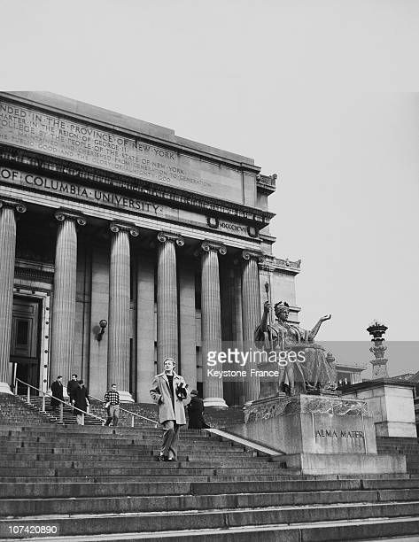 Library At Columbia University In Usa