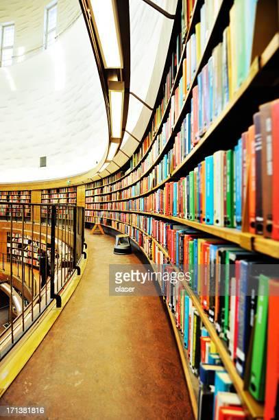 Bibliothèque étagère, Effet de perspective