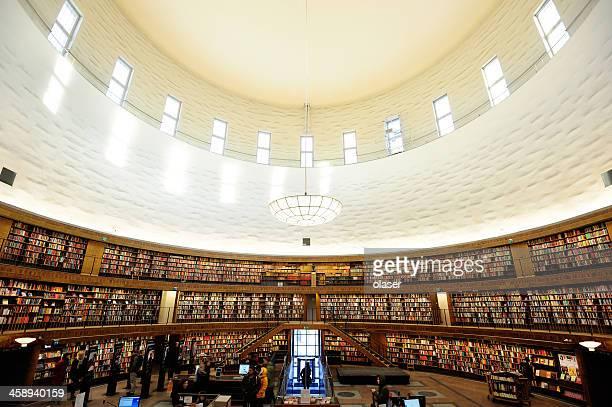 Bibliothek Bücherregal