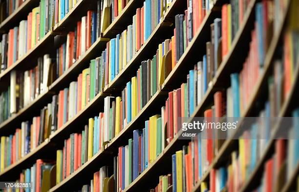 Bibliothek Bücherregal, flachen DOF