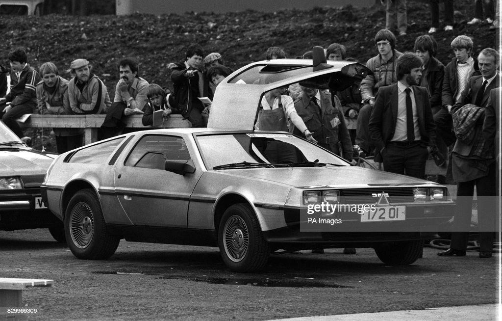 ULSTER DeLorean filer : News Photo