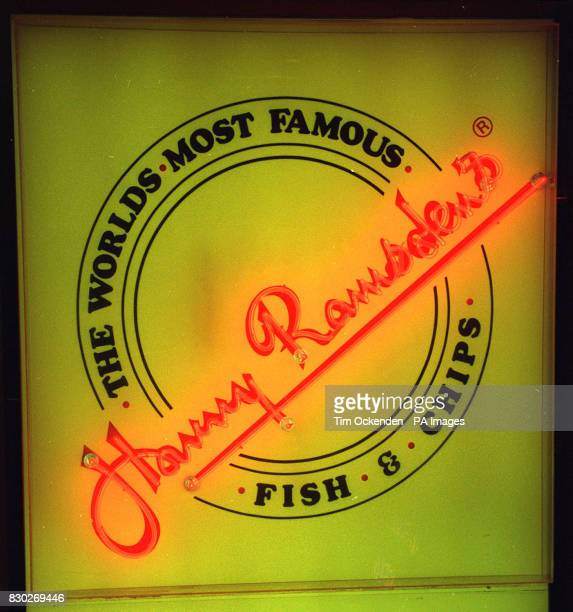 Library file 2520031 dated 2292 Harry Ramsden's famous fish and chip shop logo Directors of the company which was founded by Harry Ramsden in Leeds...