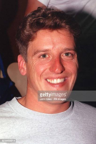 Library file 25327631 dated June 1992 British Olympic diver Robert Morgan who had to sell his official kit after running out of money in Atlanta...