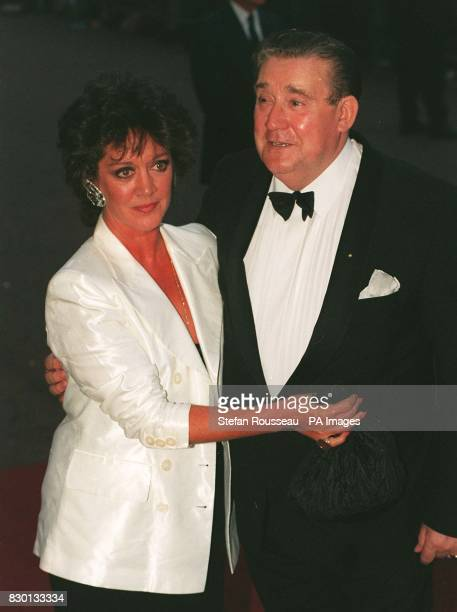 Library file 2621449 dated 29895 Bryan Mosely arrives for the National Television Awards with Coronation Street costar Amanda Barrie who plays Alma...