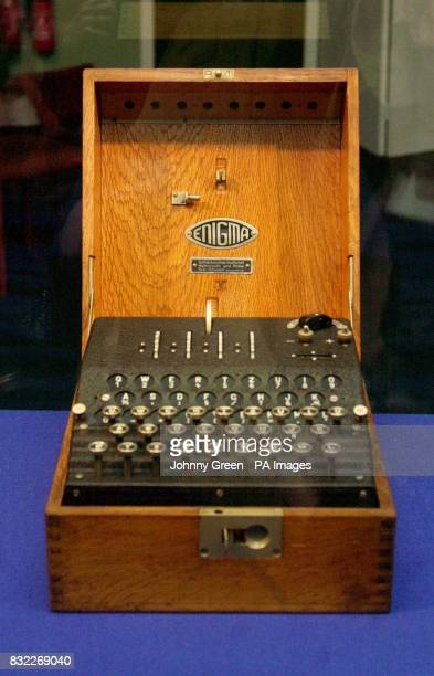 Library filer dated of an Abwehr Enigma decoding machine Second World War code breakers were today cracking the Enigma code for the first time since...