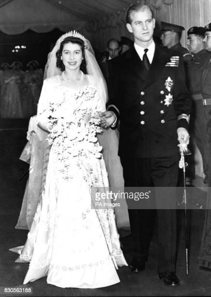 The Queen celebrates her Golden wedding anniversary