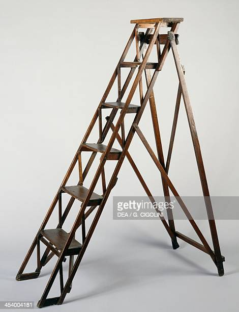 Library ladder 19301940 England 20th century