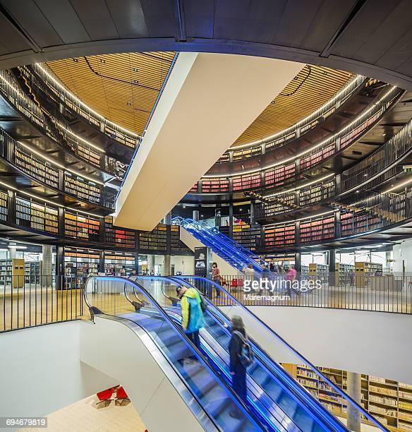 library of birmingham - バーミンガム公共図書館 ストックフォトと画像