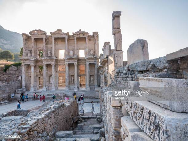 Library of Celsus in Ephesus Ancient City
