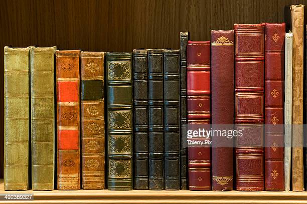 Library of old books