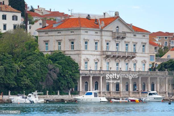 library of social sciences in dubrovnik - gwengoat stock pictures, royalty-free photos & images