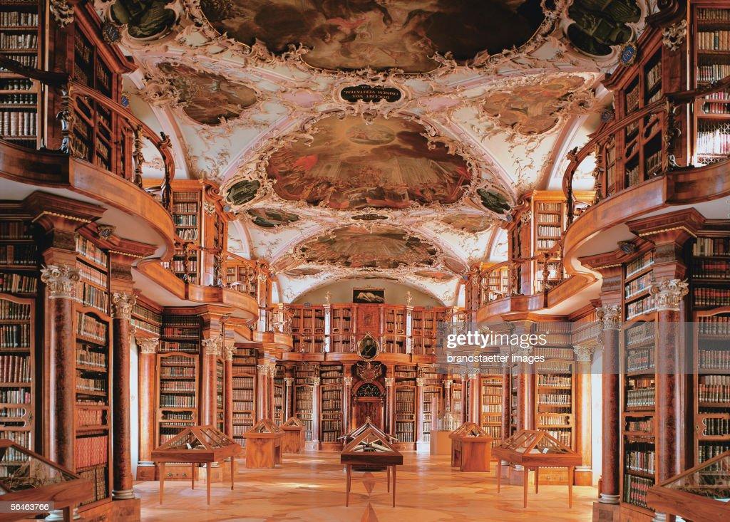Monastery library : News Photo