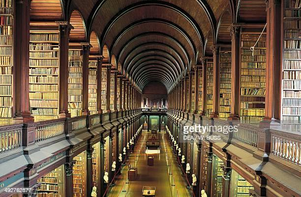 Library of Trinity College Dublin Ireland