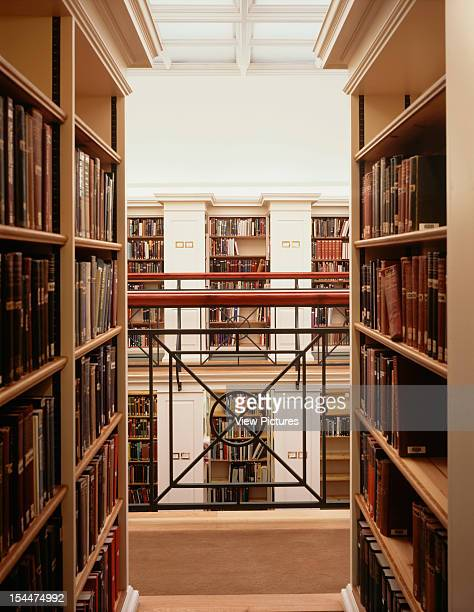 Library Peter House College Cambridge United Kingdom Architect Freeland Rees Roberts Library Peter House College Mezzanine To Mezzanine