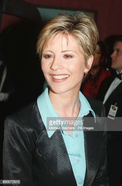 Julia Carling arriving at London's Odeon Leicester Square for the premiere of Michael Jackson's Ghost's film Former England rugby captain Will...