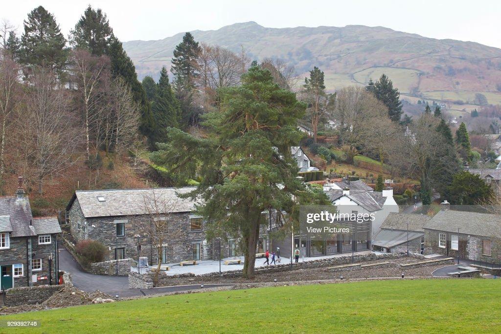 Library & Student Hub, Ambleside Campus, University Of Cumbria, Ambleside, United Kingdom. Architect: John McAslan & Partners, 2014. : ニュース写真