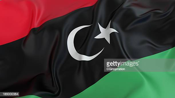 リビアフラグ - リビア ストックフォトと画像
