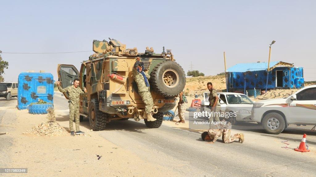 Libyan Army liberates Tripoli, heads towards Tarhuna : Nieuwsfoto's
