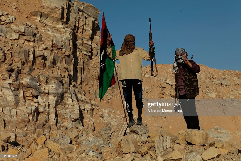 Rebel Forces Continue Push Towards Tripoli : News Photo