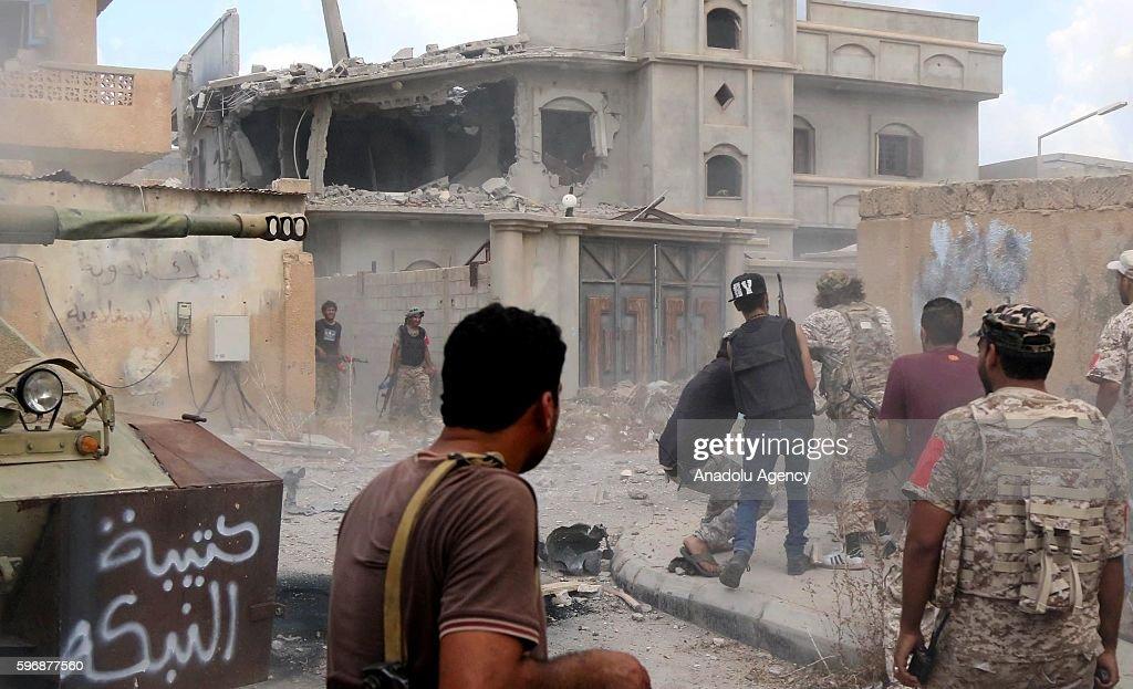 Operation against Daesh in Libya : News Photo